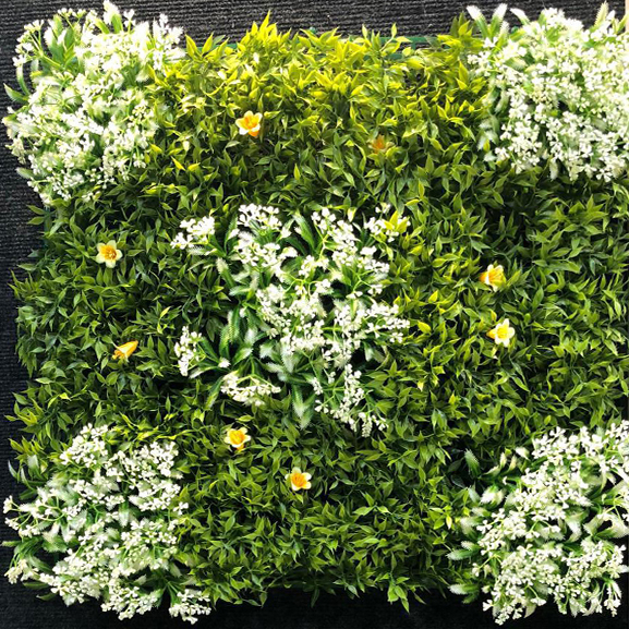 Non UV Artificial Vertical Garden Mat (50X50) cm