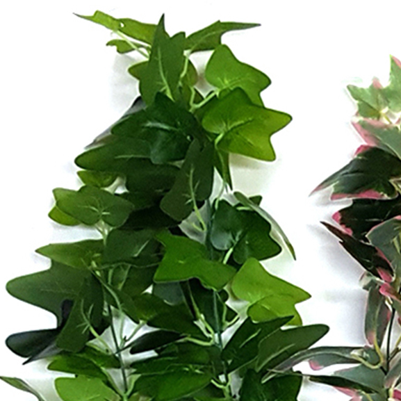 Artificial Ivy Leaves Hanging Green Bush