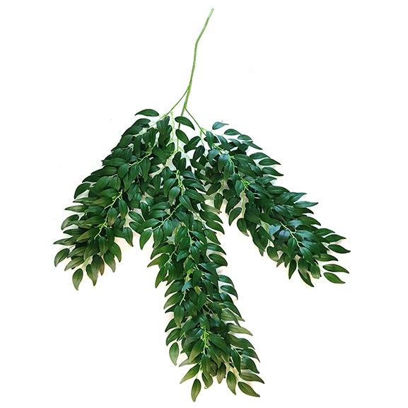 Artificial Green Hanging Bush For Home Decoration