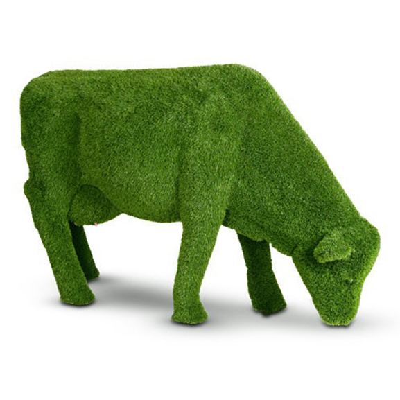 Artificial Creative Grass Animals For Home & Garden Decoration