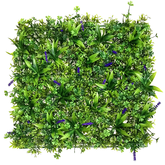 Non UV Artificial Vertical Garden Wall Mat(50X50 cm)