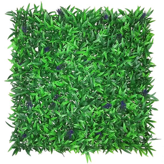Beautiful UV Artificial Vertical Garden Mat with Green Leaves(50X50 cm)