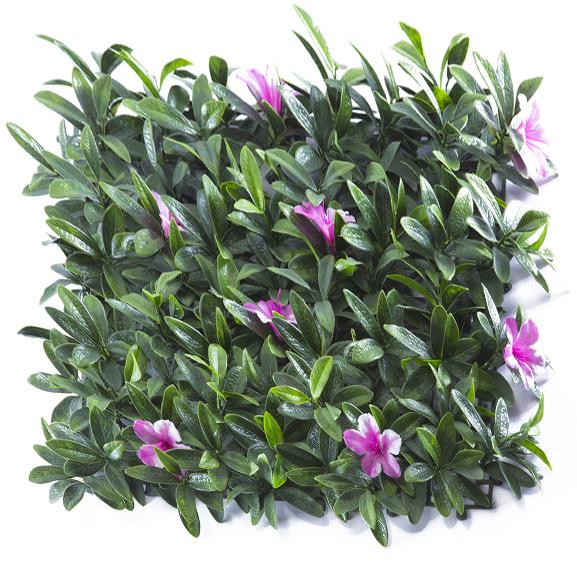 UV Protected Artificial Vertical Garden For Decor (50X50 cm)