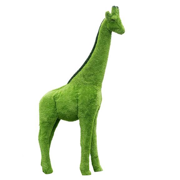 Artificial Grass Animal for Home & Garden Decor(Giraffe)