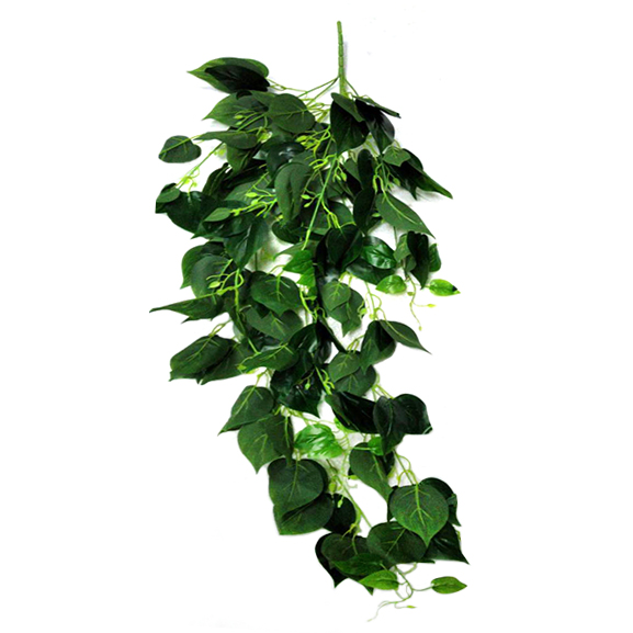Artificial Green Falling Bush For Decoration