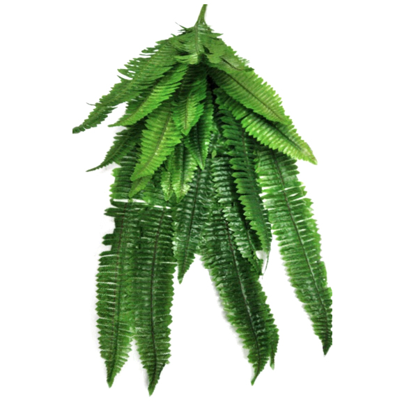 Artificial Falling Fern Leaves For Decoration