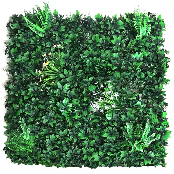 Fire Resistant UV Artificial Vertical Garden Mat (100X100 cm)