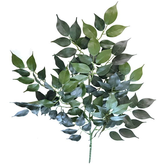 Artificial Green Ficus Spray For Home Decoration