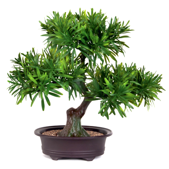 3 Head Japanese Forest Artificial Bonsai Plant