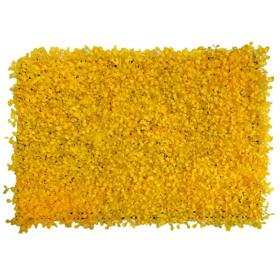 Non UV Artificial Vertical Garden Mat with Yellow Leaves (40X60 cm)