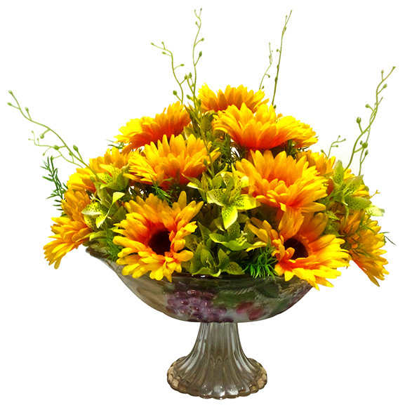 Artificial Sunflowers Arrangement for Home Decoration