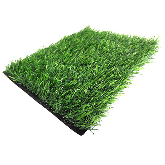 Artificial Grass Door Mat 25 mm Silver for Home and Office (18'' x 30'')