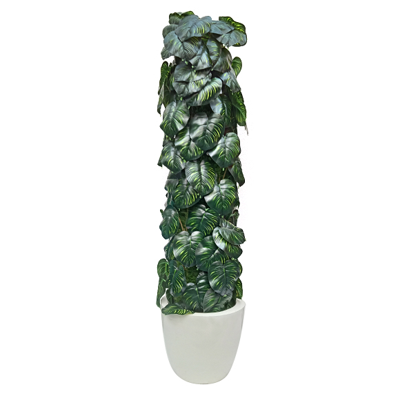 Hand Made Philodendron Plant for Decoration (3 ft)