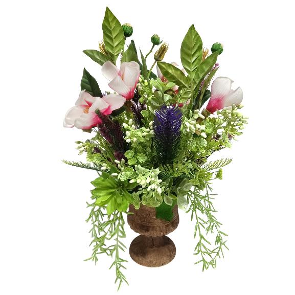 Artificial Lily Flower Arrangement