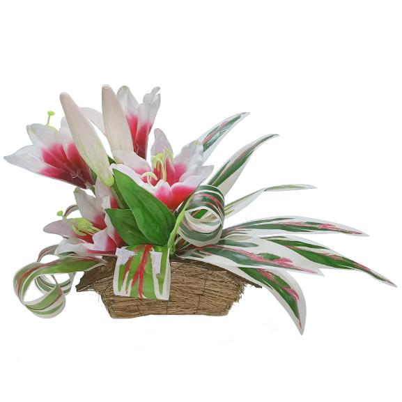 Artificial Lily Arrangement