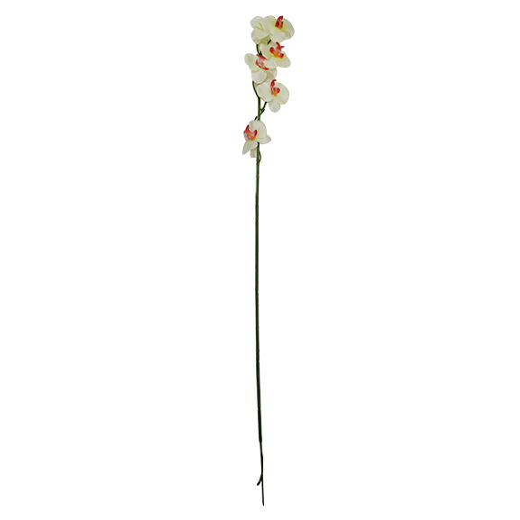 Artificial Orchid Flower single stem for Decoration