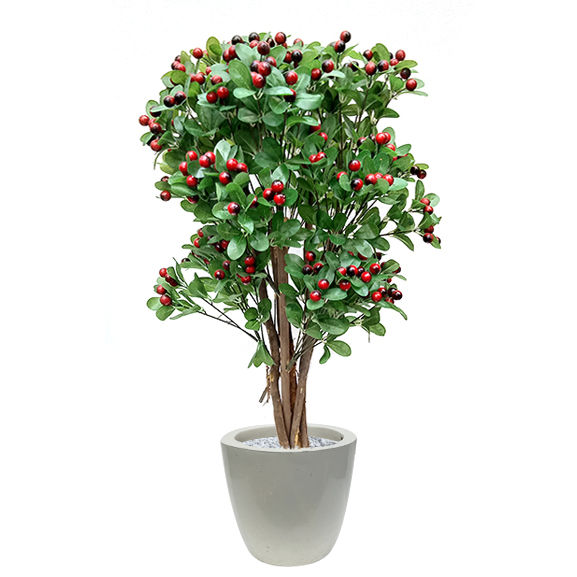 Artificial Handmade Cherry Plant (3 ft)